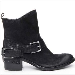 Donald J Pliner Wade Reverse Leather Riding Boots